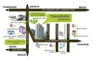 Trans park cibubur lokasi